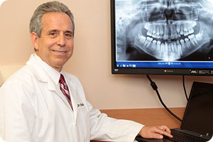 Meet Dr Seidler with Dental Xray